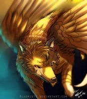 Wolf Wings by Bluemisti