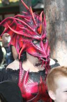 Female Dragon Mask by pepelpew