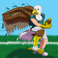 NFL TF #18: Swoop the Bald Eagle by Pheagle-Adler
