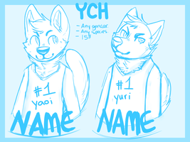 YCH: #1 yiffy by catdoq