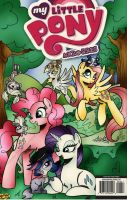 MLP meets LPS digital cover by PonyGoddess