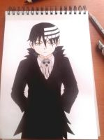 Death the Kid   Soul Eater by CraftyMail