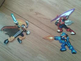 Battle networks minibeads by sedra60