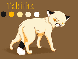 Tabitha Reference by JudgePikachu