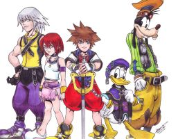 500th Deviation: Kingdom Hearts by hirokada