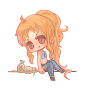 Chibi Nami by tea-hee