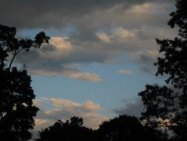 Henniker evening sky by crazygardener