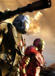 Ironman and War machine by Magolobo