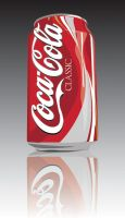 Illustration - Coca Cola Can by Solaris07