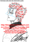 Grimmjow side view hair guide by blackstorm