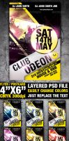 Club Flyer Template by FlyerDzine
