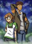 Voltron LD: Pidge and Lance by mystryl-shada