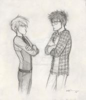 Draco and Potter by CaptBexx