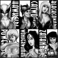 DC Women by PYdiyudie