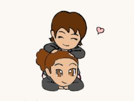 Cami n PooF Chibis: re-done by CamWolf