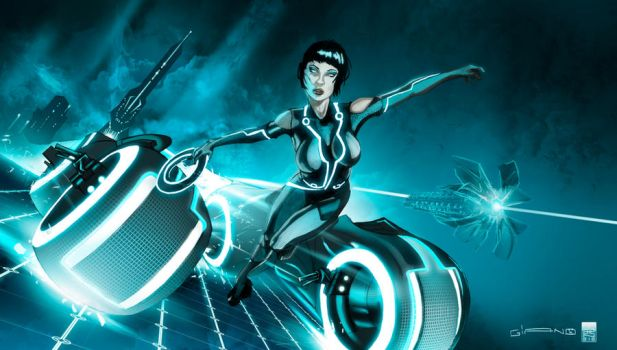 QUORRA OF TRON COL by GGIANO