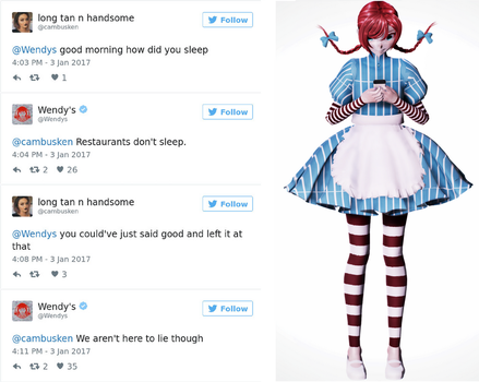 {MMD} Wendys DL by Bubble123Gum