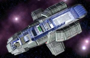 Magellan Shuttle 05 by MADMANMIKE