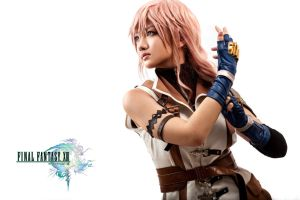 Cosplay FFXIII Lightning by Celine by hermanstudio