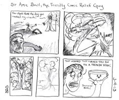 Sir Amic Bowl, the Friendly Comic Relief Guy by SometimesDrawings