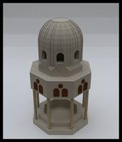Islamic Fountain by Hamamshady