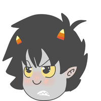 Karkat? I'm Homestucking? Waah. by TehpandahxD