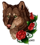 Roses and Thorns::.. by KahlaWolf