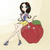 Snow White - Pin Up Style by Double-L-46