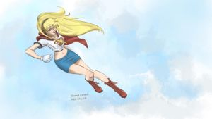 Supergirl, Colored by salva-nos