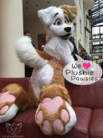Plushie Pawsies - WAITING LIST by FurryFursuitMaker