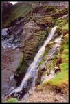 Tintagel Castle Waterfall by Forestina-Fotos
