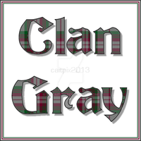 Clan Gray by tiscaitlin