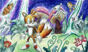 Tails in Sonic Colours by Kyubi-the-Fox