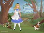 Alice in Wonderland by SingerofIceandFire
