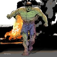 The Incredible Hulk by arunion