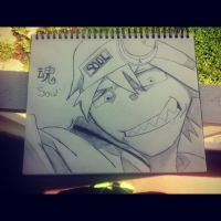 Soul- from the anime Soul Eater by forevernotsinking99
