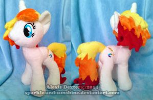 MLP Plush Commission - PrismFire by Sparkle-And-Sunshine