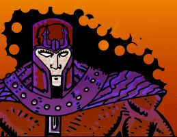 Magneto- daily sketchbook challenge by exspasticcomics