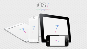 iOS 7 Logo Wallpapers by Brebenel-Silviu