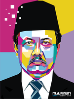 My Father in Pop Art by ndop
