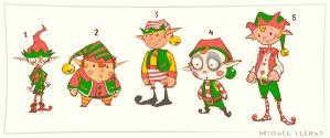 Elves by Miggs69