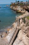 Shell Beach Stairs by kayaksailor
