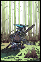 Swamp knight by Fataldose