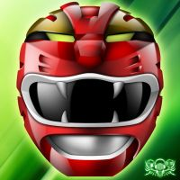 GAO RED - RED WILD FORCE RANGER by hoanngoc09