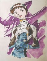 Shinji Ikari by thunderdogs