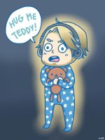 Baby Pewds: Hug Me Teddy! by anime-lover05