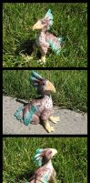 Sculpted Gryphon by chickentech