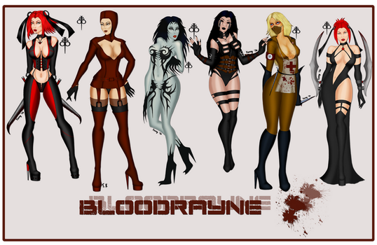 Bloodrayne Collection by OneWingedAngel75