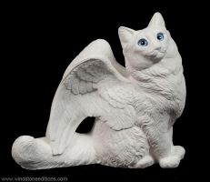 Paint your own Longhaired Flapcat Unpainted by Reptangle