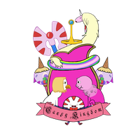 Candy Kingdom Heraldic Shield by MrCaputo